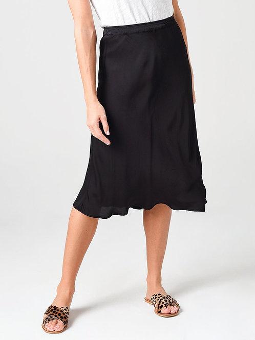 Velvet Satin Skirt