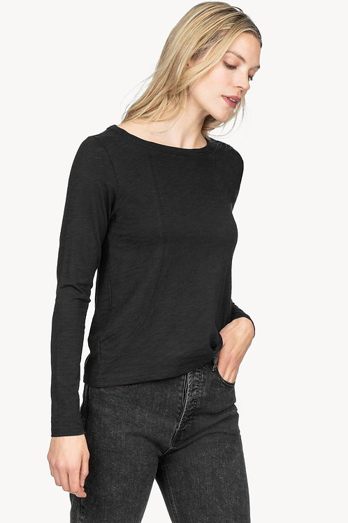 Seamed Tee by Lilla P