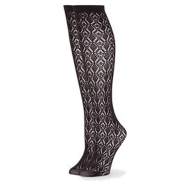 Doris Crochet Knee Highs by B.iella