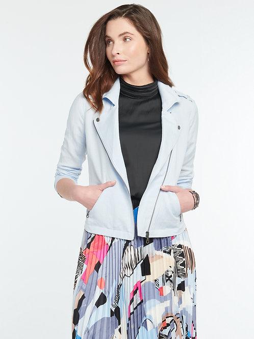 Nic + Zoe Linen Biker Jacket