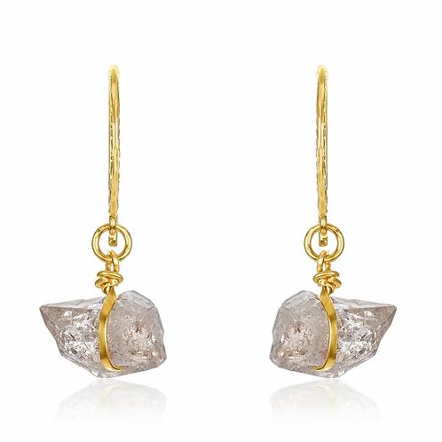 Mabel Chong Herkimer Earrings