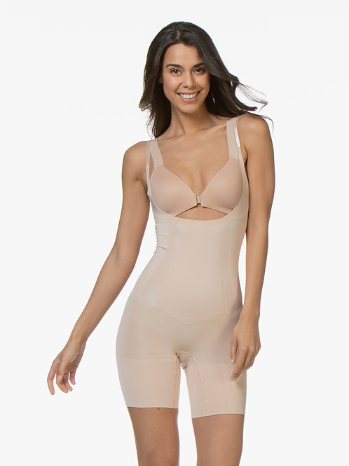Spanx Open Bust Mid Thigh
