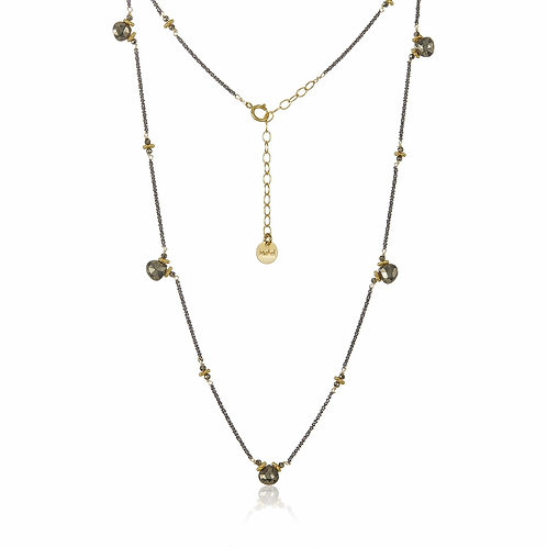 Mabel Chong Short Flapper Necklace