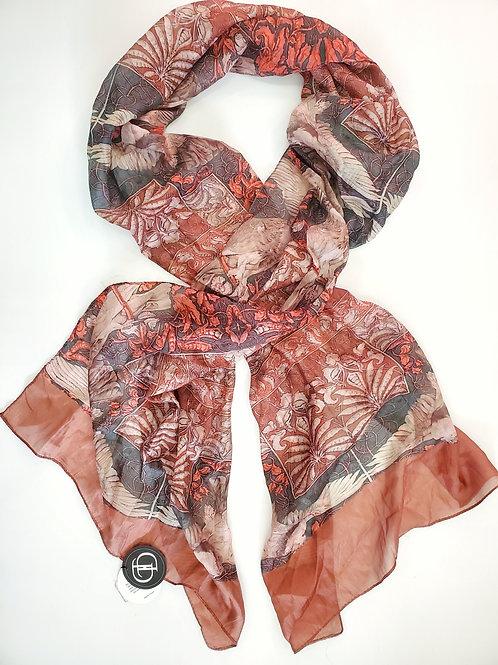 Layla silk scarf