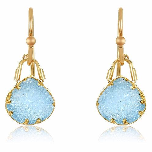 Romeo Geode earrings by Mabel Chong