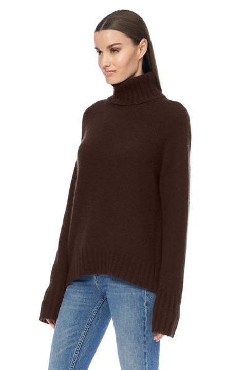 Hillary Turtleneck by 360 Cashmere