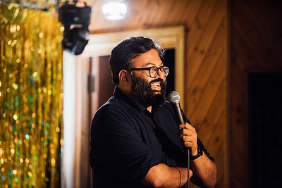 Comedian Vice Portrait Photographer Dying on Stage Documentary Quit Smoking Sunil Patel Moth Club London