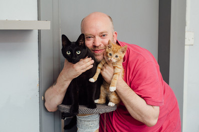 Editorial Portrait Photography Vice UK Portrait Photographer Manchester My Best Friend Documentary Cats Pets Photos