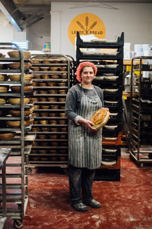 Leed Bread Co-op food photography portrait photographer