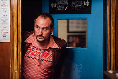 Comedian Vice Portrait Photographer Dying on Stage Documentary Quit Smoking Phil Ellis