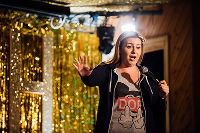 Comedian Vice Portrait Photographer Dying on Stage Documentary Quit Smoking Sarah Callaghan Moth Club London