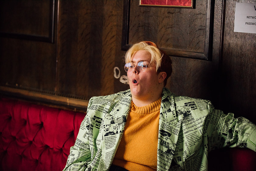 Comedian Vice Portrait Photographer Dying on Stage Documentary Quit Smoking Jayde Adams