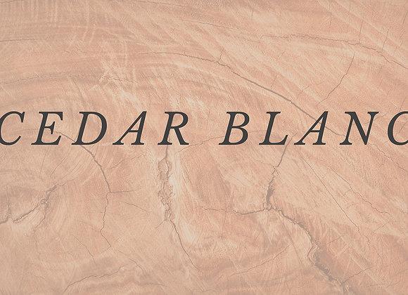 CEDAR BLANC