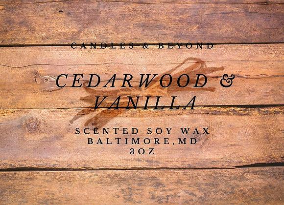 CEDARWOOD & VANILLA