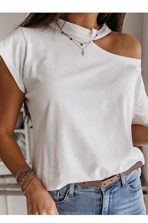 Cool shoulder short sleeve