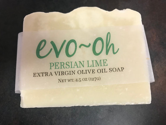 Evo-oh Persian Lime EVOO Soap