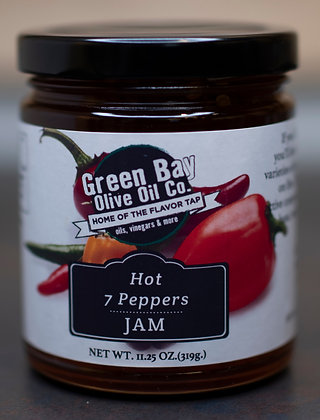 Hot 7 Pepper Jam