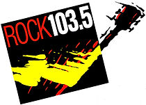 rock 103.5 logo