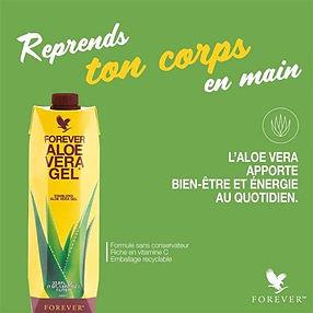 Pulpe d'Aloe L'Aloe vera Forever fait peau neuve ! Riche d'un savoir-faire de 40ans, Forever a revisité son produit signature et a créé une toute nouvelle version sans conservateur et riche en vitamine C, dans un emballage 100% recyclable. Cette formule optimisée vous apportera toujours plus de bien-être. Le secret, 99,7% de gel d'Aloe vera, la plante aux milles vertus et une dose synergique de vitamine C, molécule antioxydante aux nombreux bienfaits.L'Aloe Vera naturel, pur, stabilisé et certifié!