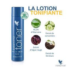 La Lotion Tonifiante, riche en gel d'Aloe vera naturel et en actifs hydratants, apporte un véritable coup d'éclat à la peau tout en rééquilibrant son pH. Résultat, un teint frais et éclatant, une peau saine, douce et apaisée, prête à recevoir les soins quotidiens.L'Aloe Vera naturel, pur, stabilisé et certifié!