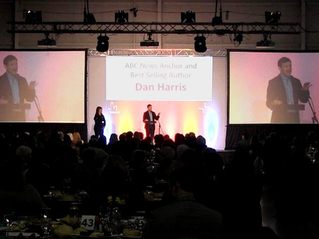 Shaffer Multimedia supplies all AVL for Bloom event featuring ABC news Dan Harris!