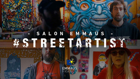Emmaüs - Portraits d'artistes