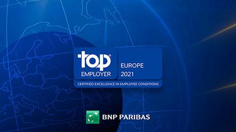 BNP Paribas - Top Employer 2021