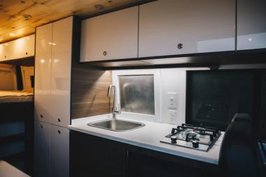 Kitchen and Custom Closet