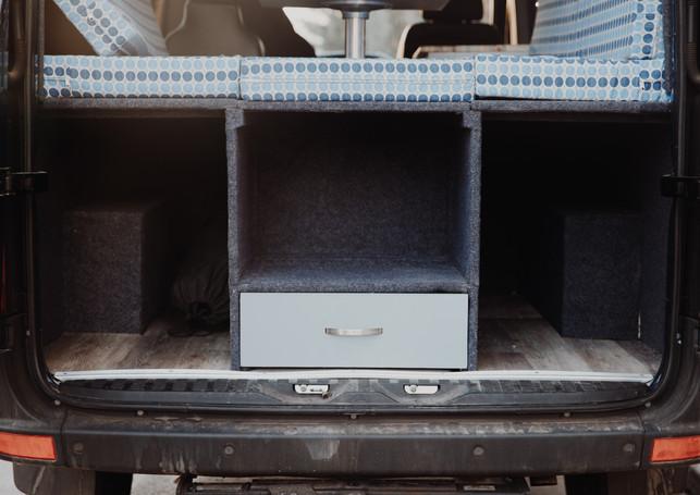 Functional Rear Storage