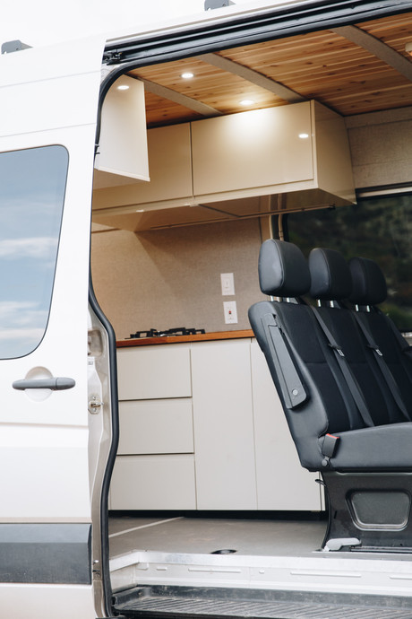 Bench Seat and Kitchen