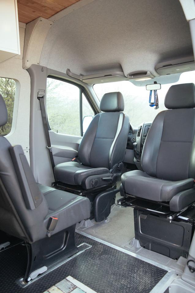 Grey Wolf Front Seat Swivels