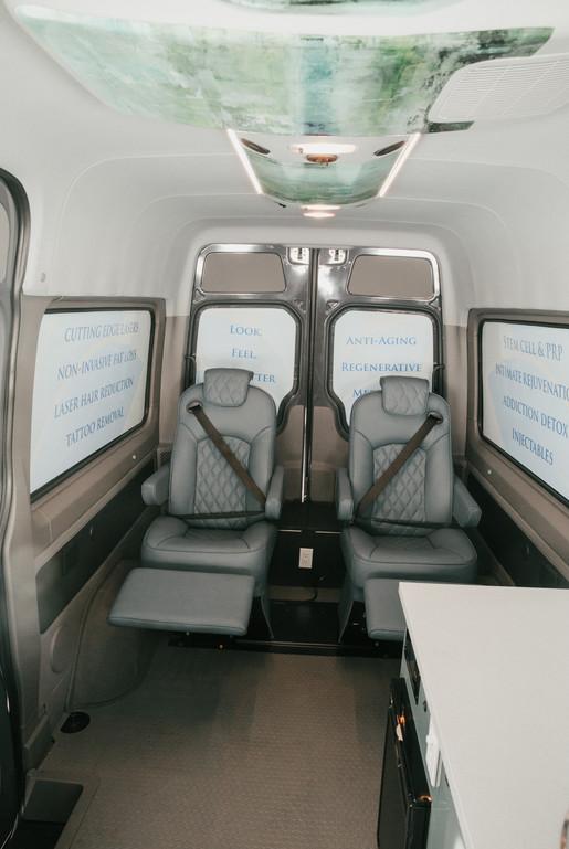 Custom Leather Reclining Seats
