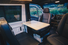 Seat Swivels and Table