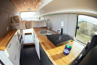 Grey Wolf Kitchen and Bed