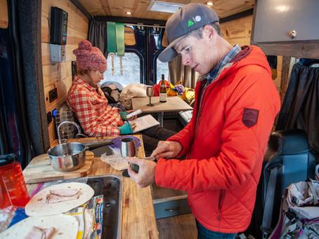 Ski Mountaineering Legends Take 'Blue' on a Spring Ski Trip