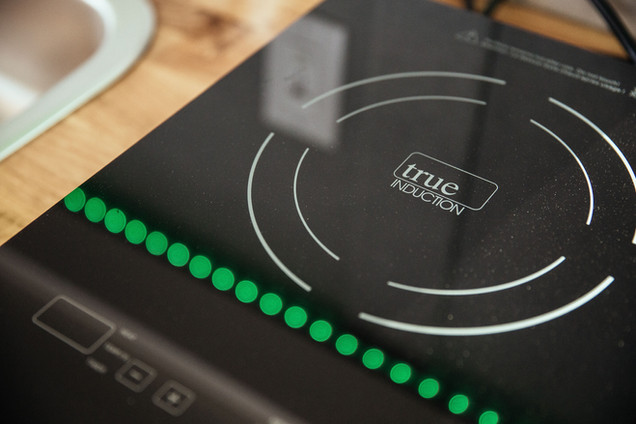 Grey Wolf Induction Cooktop