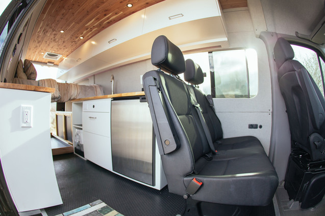 Grey Wolf 2nd Row Seats and Kitchen