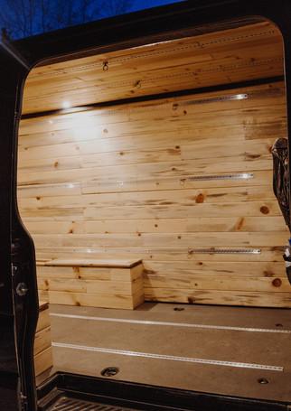 Beetle Kill Pine Paneling