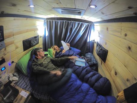 Where to Campervan in a Colorado Winter