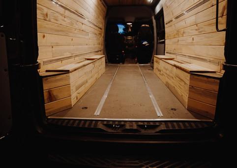 Custom Wheel Well Storage Boxes