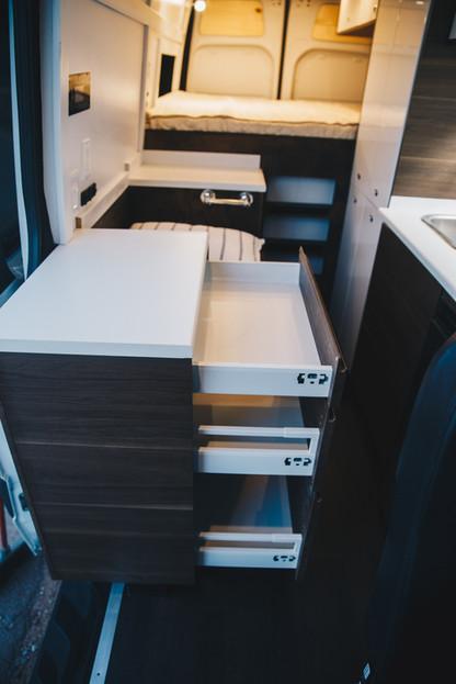 Functional Drawer Storage