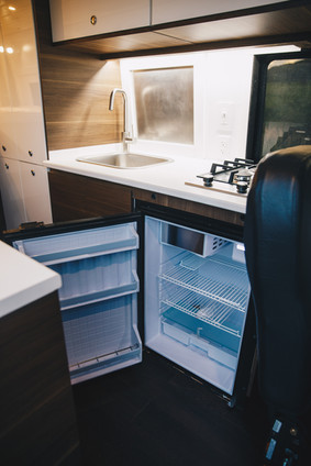 Large RV Fridge