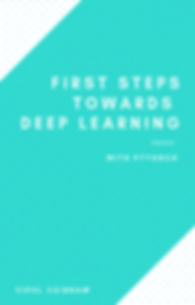 First steps towards deep learning with p
