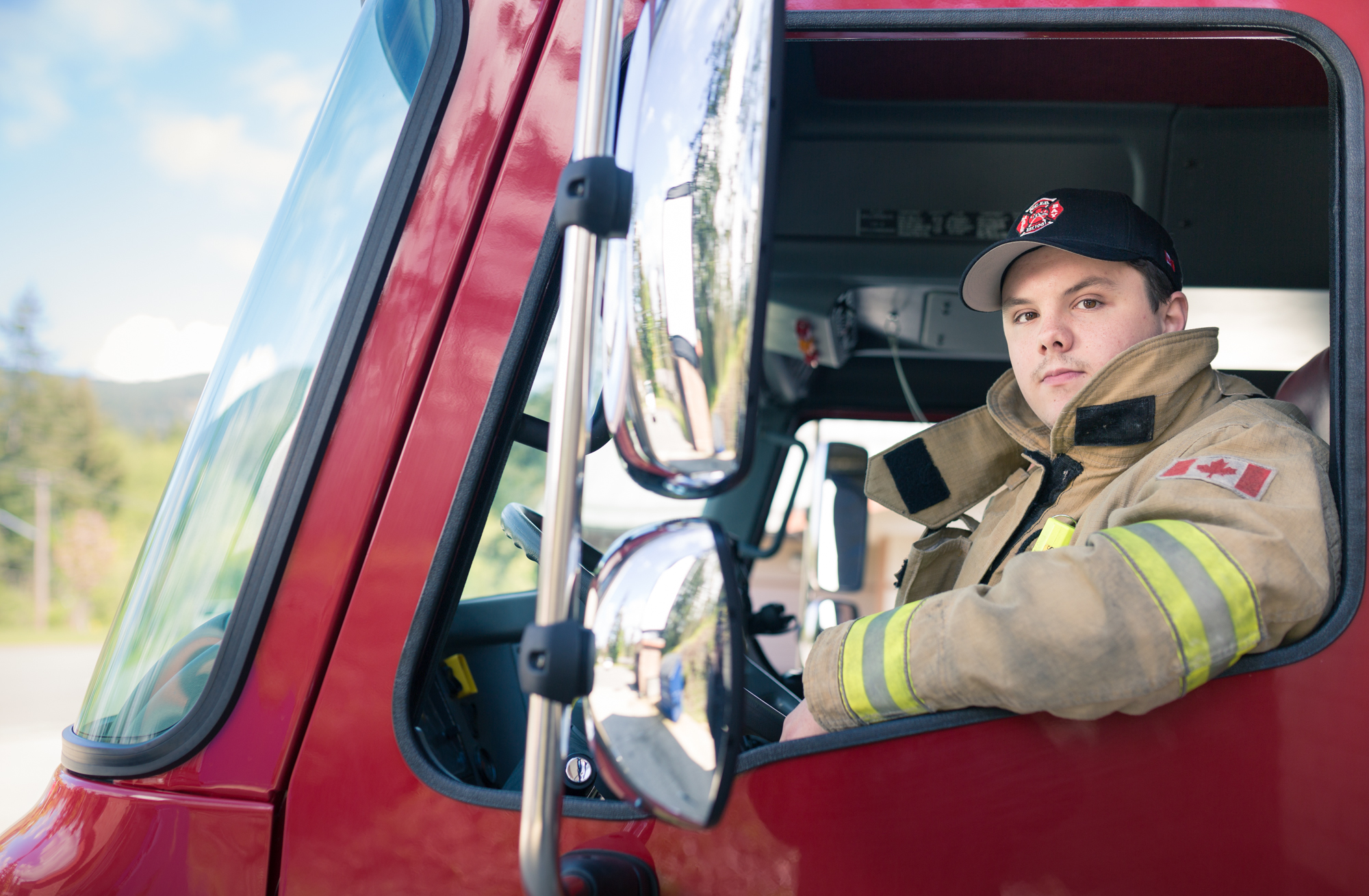 Conor, North Cowichan Firefighter