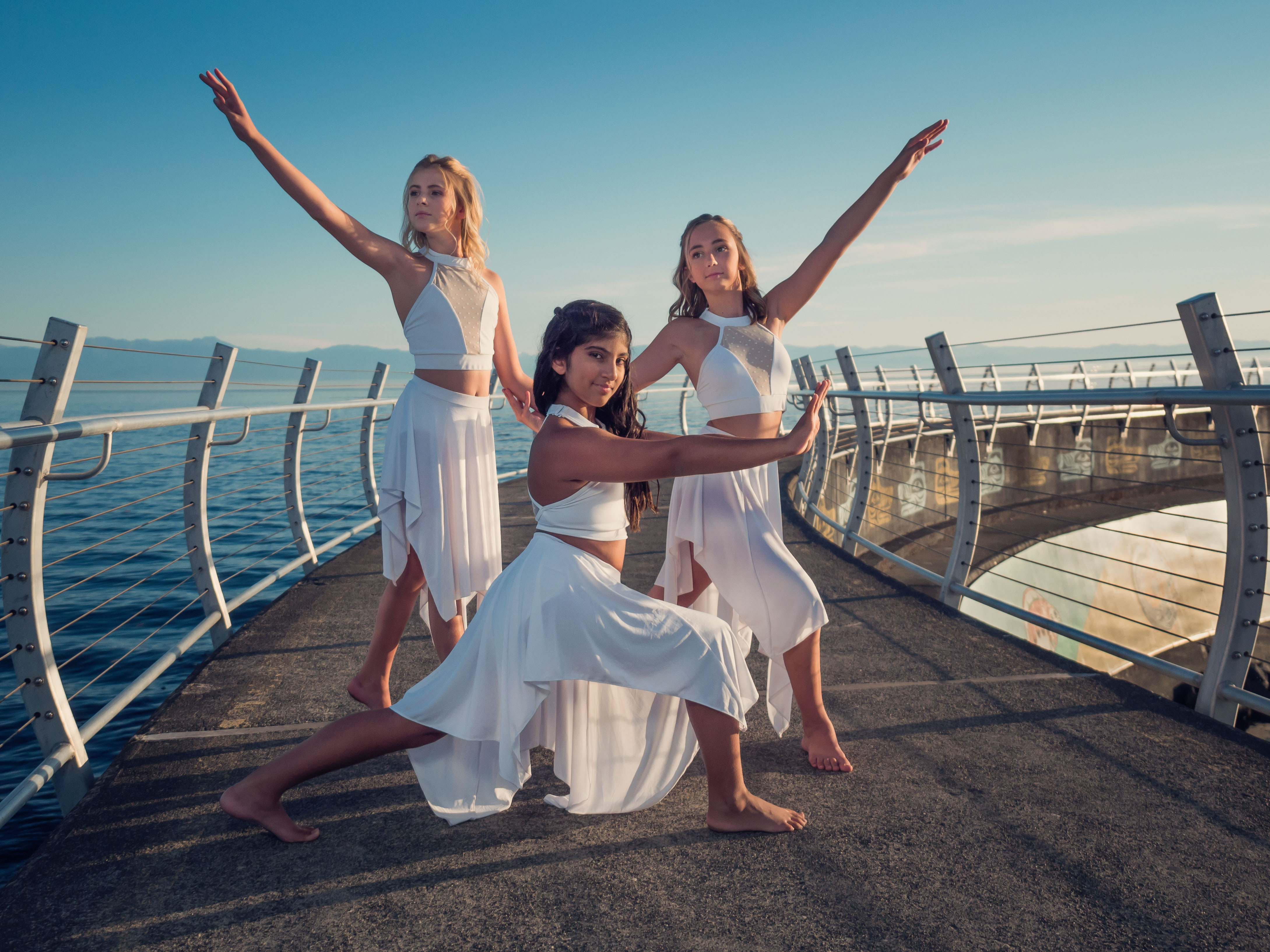 Olivia, Jasmine, Jorja