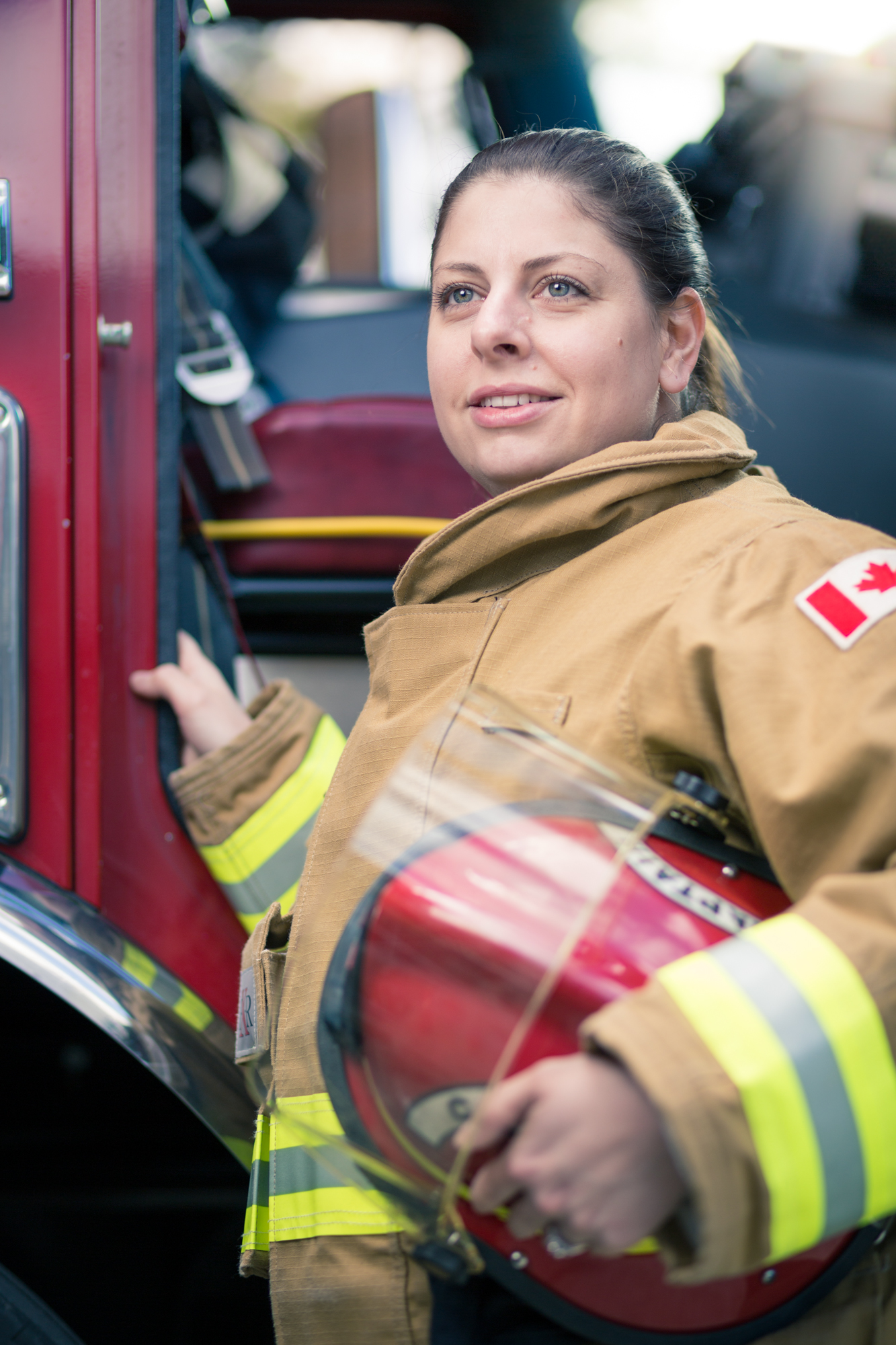 Michelle, North Cowichan Firefighter