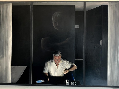 Tom Chapple reflects on his journey into art.