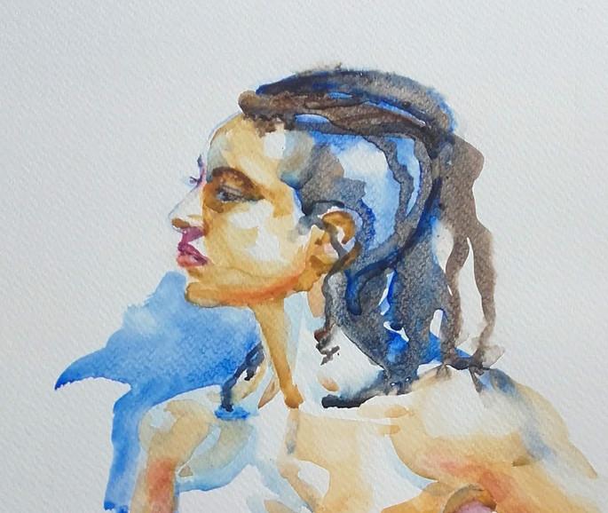 20190111_141922 Seeker, watercolour by J