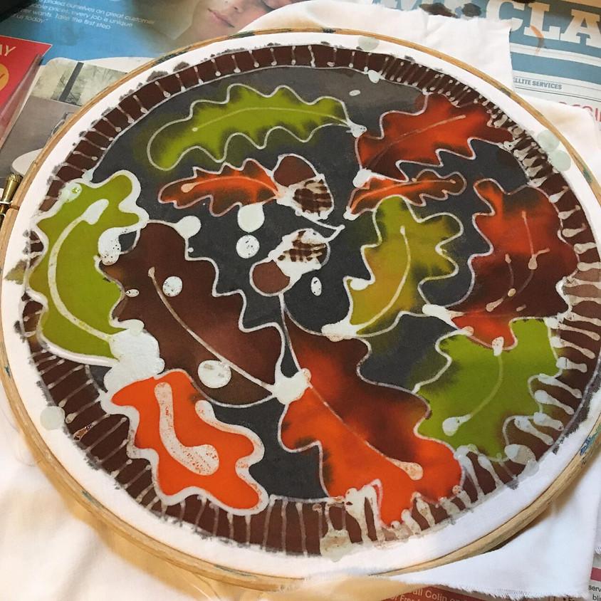 "FAMILY WORKSHOP:  Brilliant Batiks - ""Inspired by Autumn"""