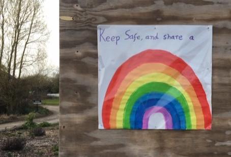 Keep safe & share a rainbow ...